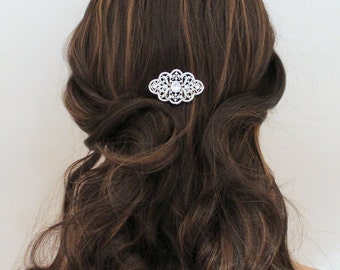 Bridal hair comb, Wedding hair comb, Hair pin, Wedding headpiece, Rose Gold hair comb, Hair clip, Rhinestone hair comb Bridal hair accessory
