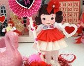 Vintage Inspired SuGaR SwEeT Valentine Keepsake BE MINE VALENTINE Diorama