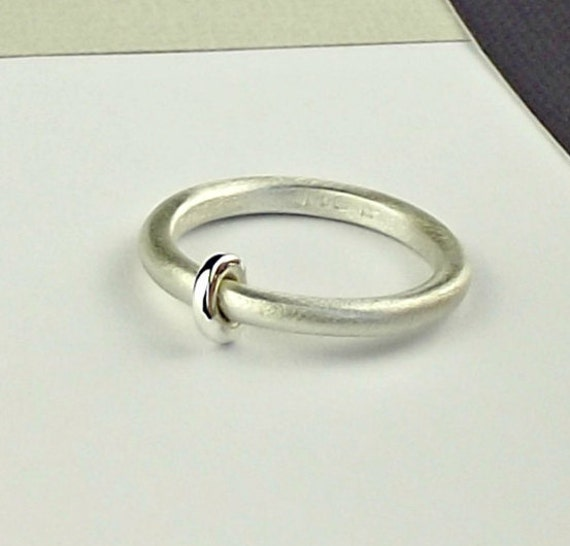 sterling silver abacus ring silver ring simple ring simple