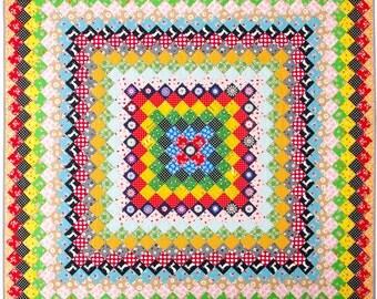 Griant Granny Square Quilt
