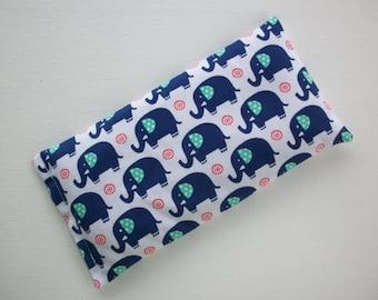 lavender eye pillow aromatherapy elephant flax seeds - yoga mask - spa sleep relaxation stress relief - coworker teacher