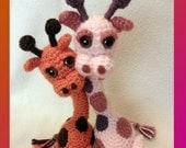 Jointed Giraffe - PDF Crochet Pattern