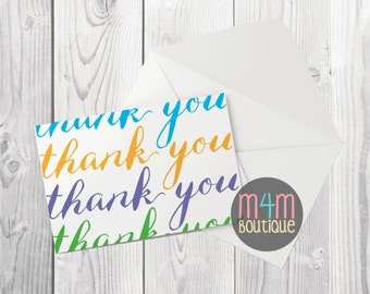 """THANK YOU cards personalized 
