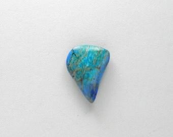 Sea sediment jasper, stone cabochon, sea sediment cab, freeform, artisan, handcrafted, jewelry making,statement cab, turquoise color