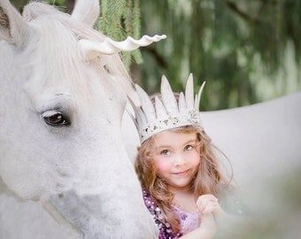 Unicorn Horn for Horses- you choose size and color.