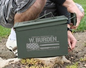 Fathers Day Gift for Dad Husband Gift for Men Ammo Box