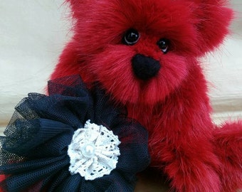 Carrie, 10 inch scarlet plush by bedlam bears