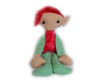 Elf Doll Stuffed Plush