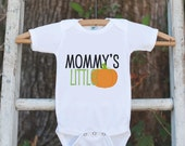 Mommy's Little Pumpkin Halloween Shirt - Pumpkin Onepiece - Fall Outfit for Baby Boy or Baby Girl - Halloween Outfit - Kids Novelty Shirt