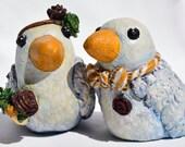 Custom Love Birds Sculptures