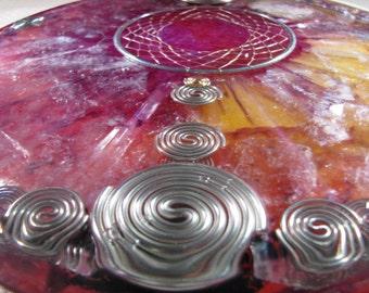 Orgone Mandala - Lepidolite and Amethyst