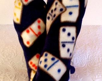 Warm Fleece Socks Handmade, Women's Winter Fleece Socks, Ski Boot Socks, Warm Handcrafted Sox, Ladies Warm Socks, Women's Diabetic Socks