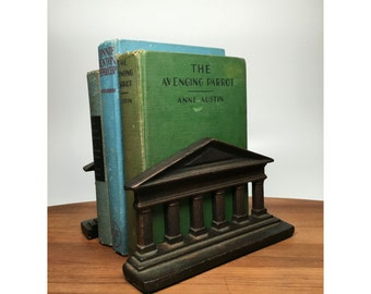 Architectural Cast Iron Bookends - 1920s or 30s