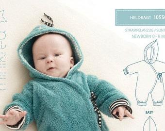 Minikrea 10550 Bunting Sewing Pattern for Newborn Dänish Design