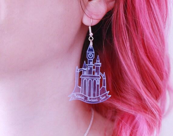 Disney Castle Earrings