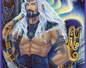 Heimdalr Gatekeeper of the Bifrost Print