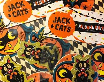Halloween Party Sticker Pack