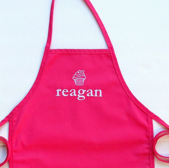 Personalized Kids Apron Monogrammed Childs Apron by ...
