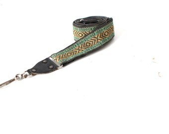 60s 70s BOHO psychedelic adjustable CAMERA strap