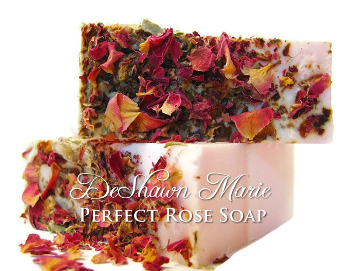 SOAP - 3 lb. Perfect Rose Soap Loaf, Vegan Soap Loaf, Handmade Soap Loaf, Wholesale Soap, Wedding Favors, Wholesale Soap Loaves