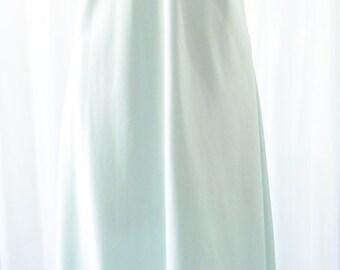 Vanity Fair Aqua Nightgown NOS Vintage Maxi XL