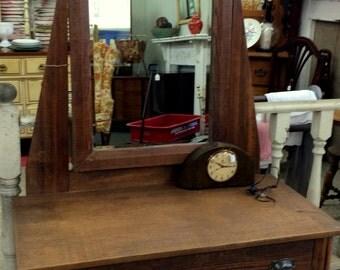 Antique Pine Dresser, Furniture, Vintage Small Dresser, Country Pine Furniture, Rustic Furniture