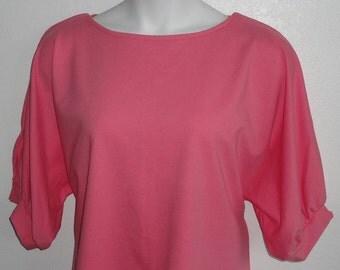 L - Post Surgery Shirt - Shoulder - Mastectomy- Breast Cancer/ Adaptive Clothing - Hospice, Seniors, Stroke / Breastfeeding  - Style Libby