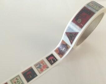 Postal Stamp - Washi Tape 10 meters WT827