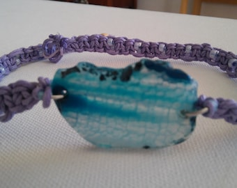 hemp necklace/choker/hippie necklace