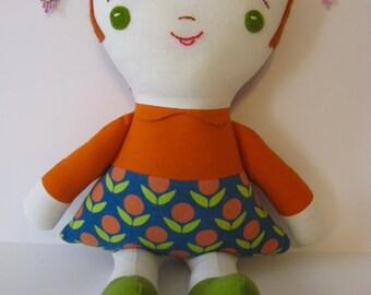 Wee Wonderfuls Sweet Cloth Girl Doll