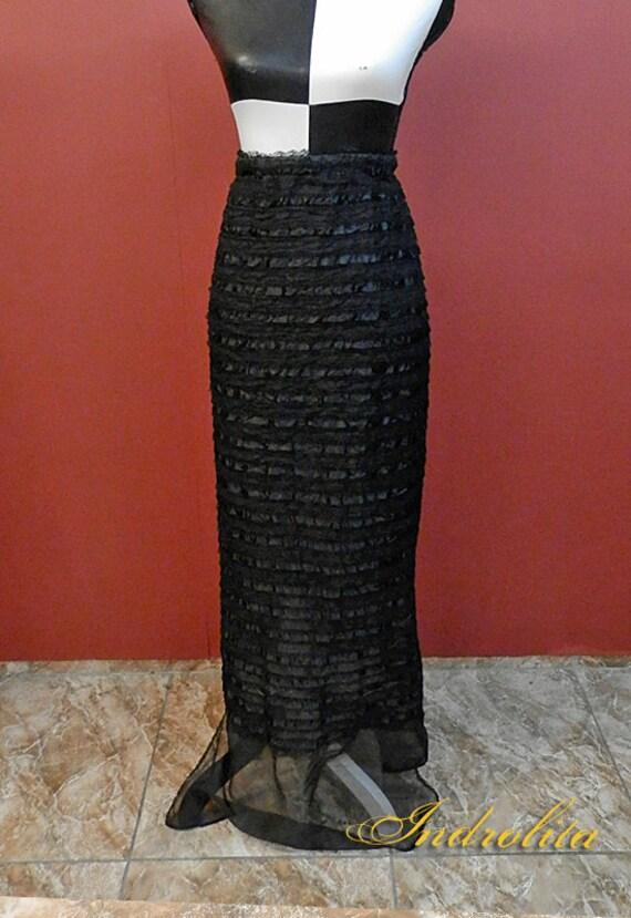 Gothic Siren Lace Skirt
