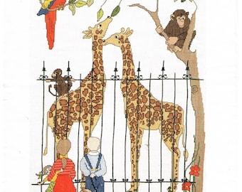 Vintage Thea Gouverneuar  - Day at the Zoo
