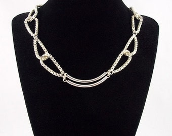 Sterling Silver Links of Box Chain Necklace