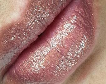 Lavold - Purple Gold Iridescent Liquid Lipstick Lip Gloss 8