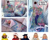"Simplicity 9833 Craft Sewing Pattern by Andrea Schewe Clothes, Tote, Doll Sized Garment and Sleeping Bag for 18"" American Girl Doll - Uncut"
