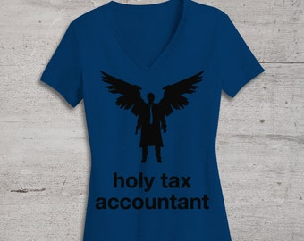 Holy Tax Accountant Supernatural Inspired SVG File