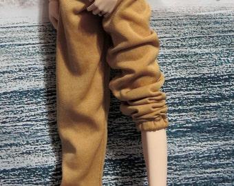 60cm BJD SD SD13 Gold Sweatpants