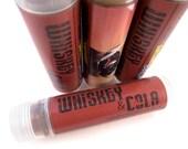 WHISKEY & COLA Lip Balm - vegan natural whisky candelilla lip tube