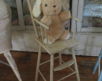 ADORABLE Vintage Bunny Rabbit Floppy Ear Plush Stuffed Animal GUND