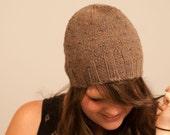 Rocky mountain ranges hat, pdf pattern, knit hat