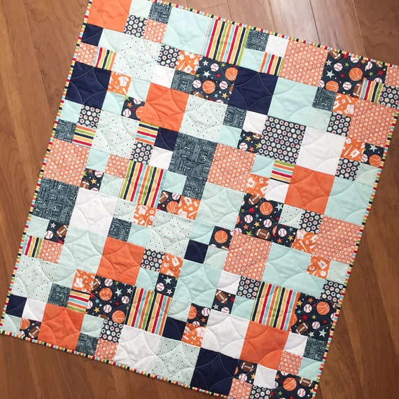Baby Sports Quilt Patterns 120