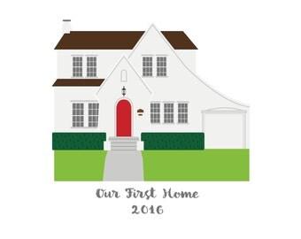 Custom Home Print