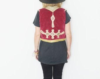 Vintage Ottoman Velvet Tribal Vest