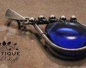 Deep Blue Sea - Pendant - Sterling Silver