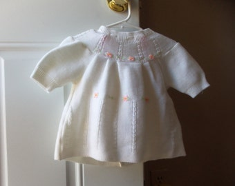 Baby Dress Set - Made in Japan, My Little Self, 18 months size, Baby Girl Dress, Collectible, Baptism, Photo Opportunity, Doll Collectors