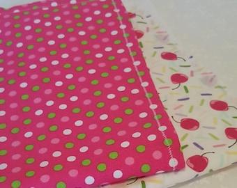 Sweet Baby Burp Cloths - Set of 2