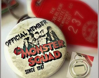 Monster Squad Member - Large Key Ring Bottle Opener