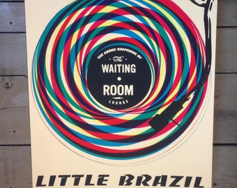 Little Brazil Screen printed Poster
