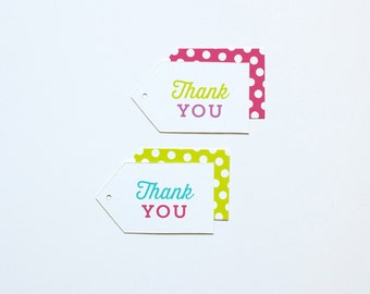 Thank You Bridal Gift Tags - 18 pack