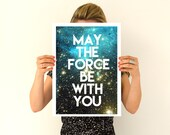 Fathers day gift Star wars inspirational poster Wall Art- Star wars quote Art, Wall Hanging star wars ,Geek art PWT202